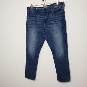 American Eagle Jeans Size 18 Short Jegging Crop